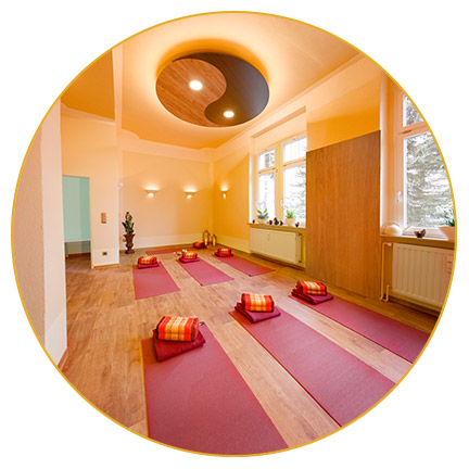 Yoga, Bild von Yogaraum